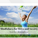 4 Week Meditation Course For Healing Depression, Anxiety & Stress